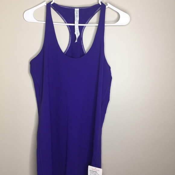 lululemon athletica Tops - Lululemon Cool Racerback tank top sz 12 purple